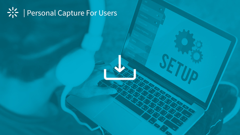 How to Install the Kaltura Capture Application