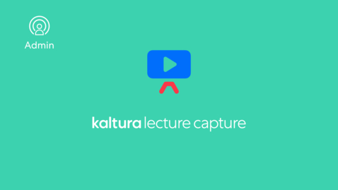 Thumbnail for entry How to Install the Kaltura Classroom And Enable Authentication Settings