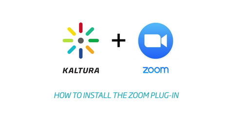 Thumbnail for entry Kaltura - Zoom Video Plug-In