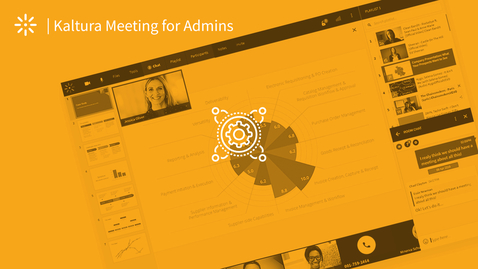 Thumbnail for entry Version 1 For Admins: How to Engage Your Meeting Participants