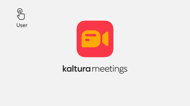 Thumbnail for channel Kaltura Meetings - Setting up your live room