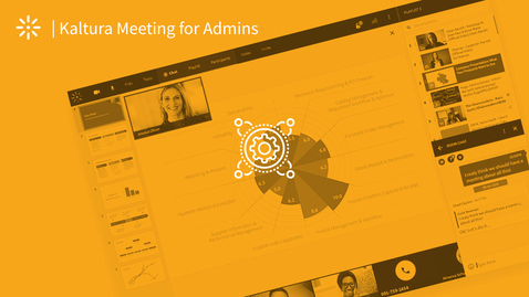 Thumbnail for entry All Versions For Admins: How To Launch Kaltura Meetings Using MediaSpace or LMS