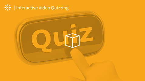 Thumbnail for entry Video Quiz - Settings