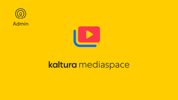How To Use Kaltura Learning Copy Course