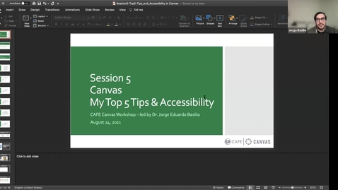 Thumbnail for entry Canvas Champion Workshops: My Top 5 Tips & Accessibility by Jorge Basilio