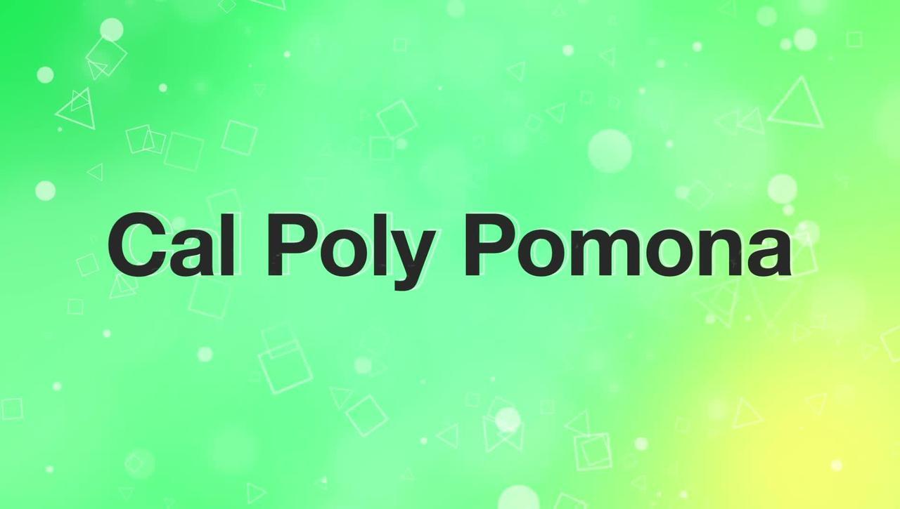 Cal Poly Pomona Highlight Video 2017-2018