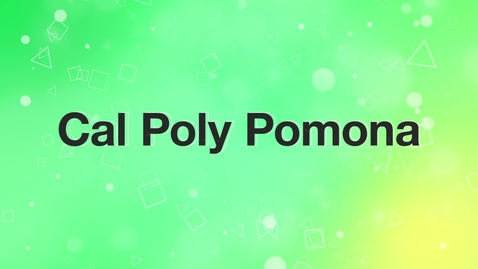Thumbnail for entry Cal Poly Pomona Highlight Video 2017-2018
