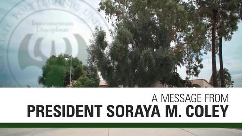 Thumbnail for entry President Coley Visits Orientation