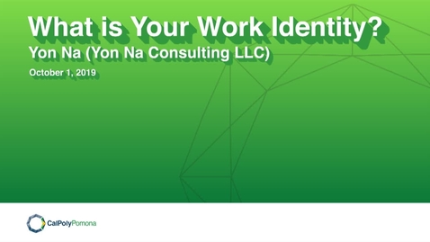 Thumbnail for entry CPP Speaker Series: Yon Na