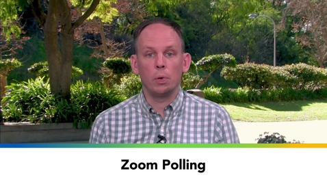 Thumbnail for entry Zoom Polling