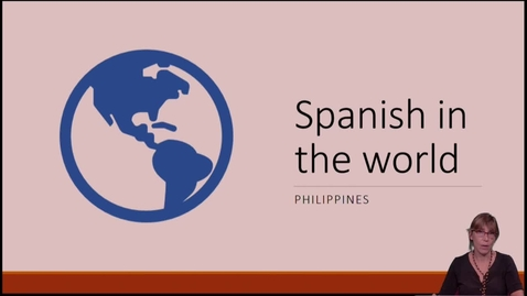 Thumbnail for entry SPN 1120 - Spanish In The World - Philippines