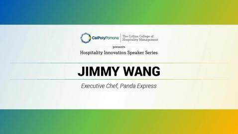 Thumbnail for entry Jimmy Wang - Executive Chef, Panda Express