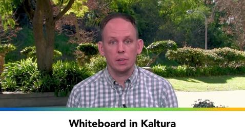 Thumbnail for entry Whiteboard in Kaltura