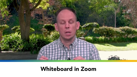 Thumbnail for entry Whiteboard in Zoom