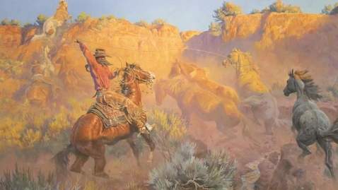 Thumbnail for entry Living Life in the West // Don B. Huntley Western Art Collection