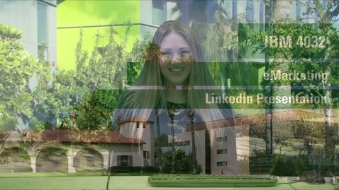 Thumbnail for entry IBM 4032 eMarketing / LinkedIn