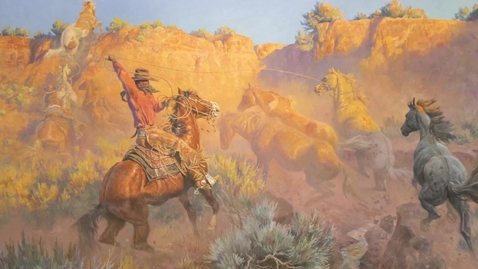 Thumbnail for entry Selections from the Don B. Huntley Western Art Collection