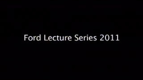 Thumbnail for entry The Ninth Annual Dr. Lucille G. and L.W. Ford Distinguished Business Lecture Series
