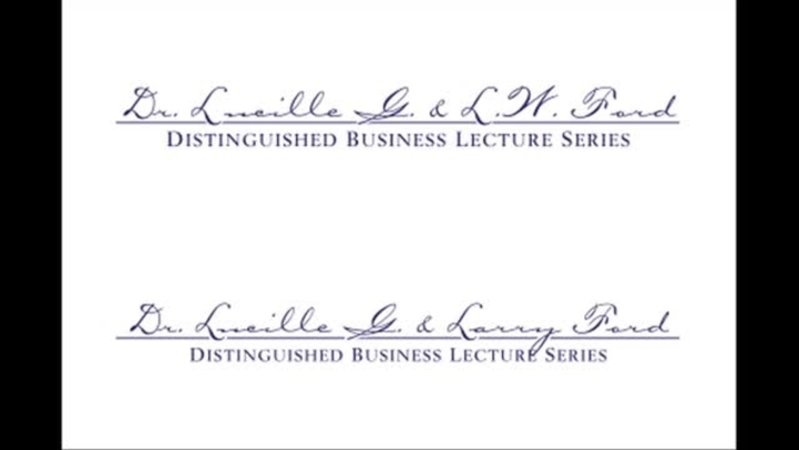 Thumbnail for channel Ford Lecture Series