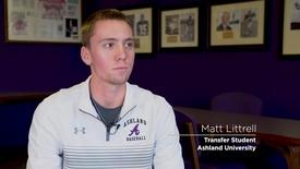 Thumbnail for entry 2018 Student Transfer Spotlight: Matt Littrell