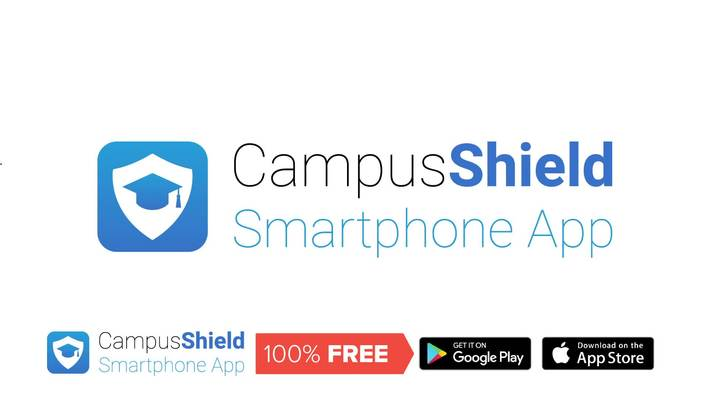 Campus Shield Smartphone app