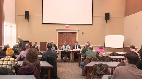 Thumbnail for entry 2020/02/13 Ashland Center for Non-Violence: A Conversation About Guns & Mental Health