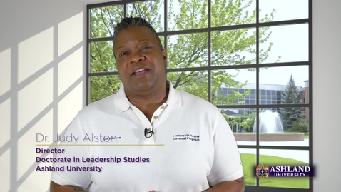 Thumbnail for entry Doctorate in Leadership Studies Program