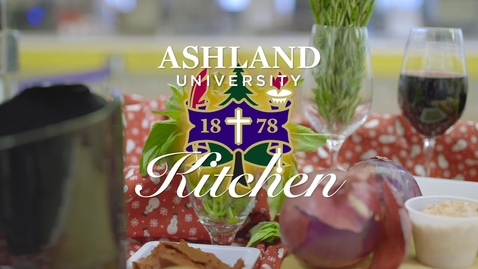 Thumbnail for entry Ashland University Kitchen: Holiday Hints & How-to's w/ special hors d'oeuvre