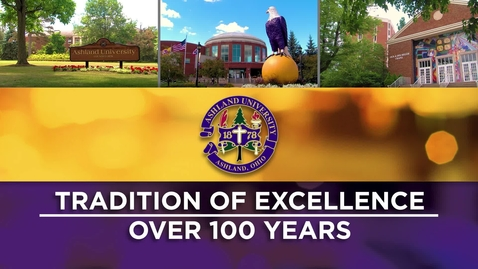 Thumbnail for entry Ashland University: Online Degrees