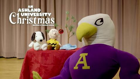 Thumbnail for entry An Ashland University Christmas - Inspired by Charles Schulz