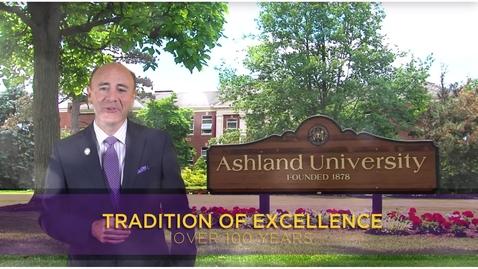 Thumbnail for entry Ashland University: Visit AU