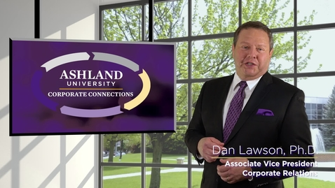 Thumbnail for entry Ashland University Corporate Connections Program
