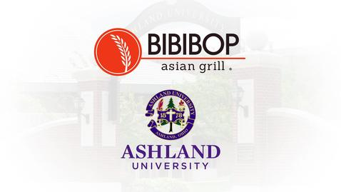 Ashland University Corporate Partnership w/ Gosh Enterprise: BIBIBOP Asian Grill