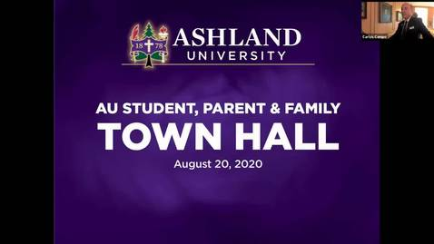 Thumbnail for entry 8-20-2020 Students, Parents, and Families Town Hall