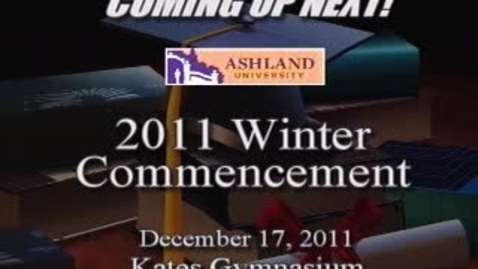 Thumbnail for entry Winter 2011 Commencement: Jerry Ruyan