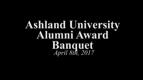 Thumbnail for entry 2017/04/08 Ashland University Alumni Awards