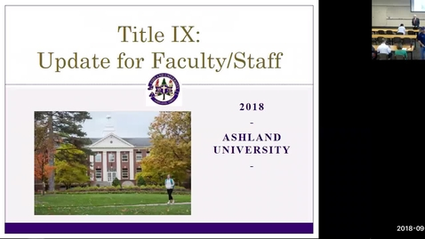 Thumbnail for entry Title IX Training