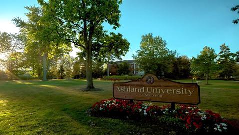 Ashland University Sunrise Timelapse