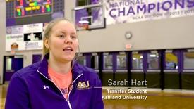 Thumbnail for entry 2018 Student Transfer Spotlight: Sarah Hart