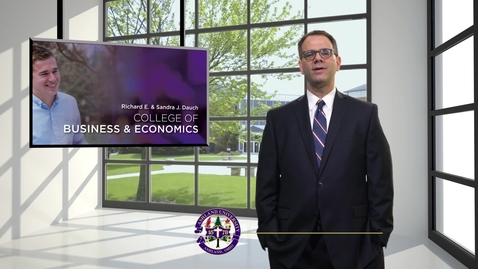 Thumbnail for entry Dr. Elad Granot; Dean, Dauch College of Business & Economics