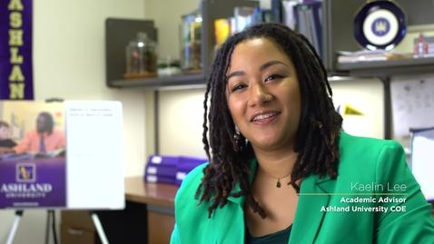 Thumbnail for entry Dwight Schar College of Education Academic Advisor: Kaelin Lee