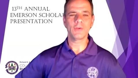 Thumbnail for entry 2021 Emerson Scholars Presentation