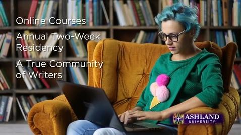 Thumbnail for entry Online Programs: MFA Creative Writing