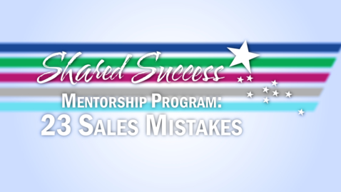 Thumbnail for entry 23 Common Sales Mistakes
