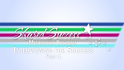 Thumbnail for entry Interviewing for Success