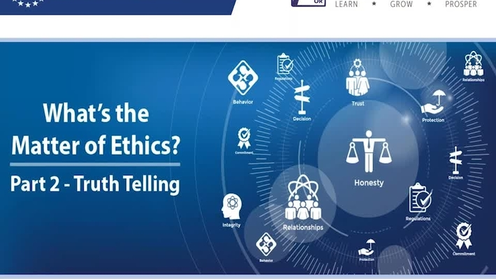 What's the Matter of Ethics - Part 2 - Truth Telling