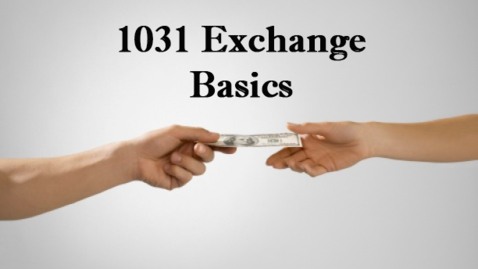 Thumbnail for entry 1031 Exchange Basics | February 19, 2019