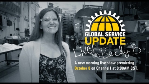 Thumbnail for entry Global Service Update - Live!!!