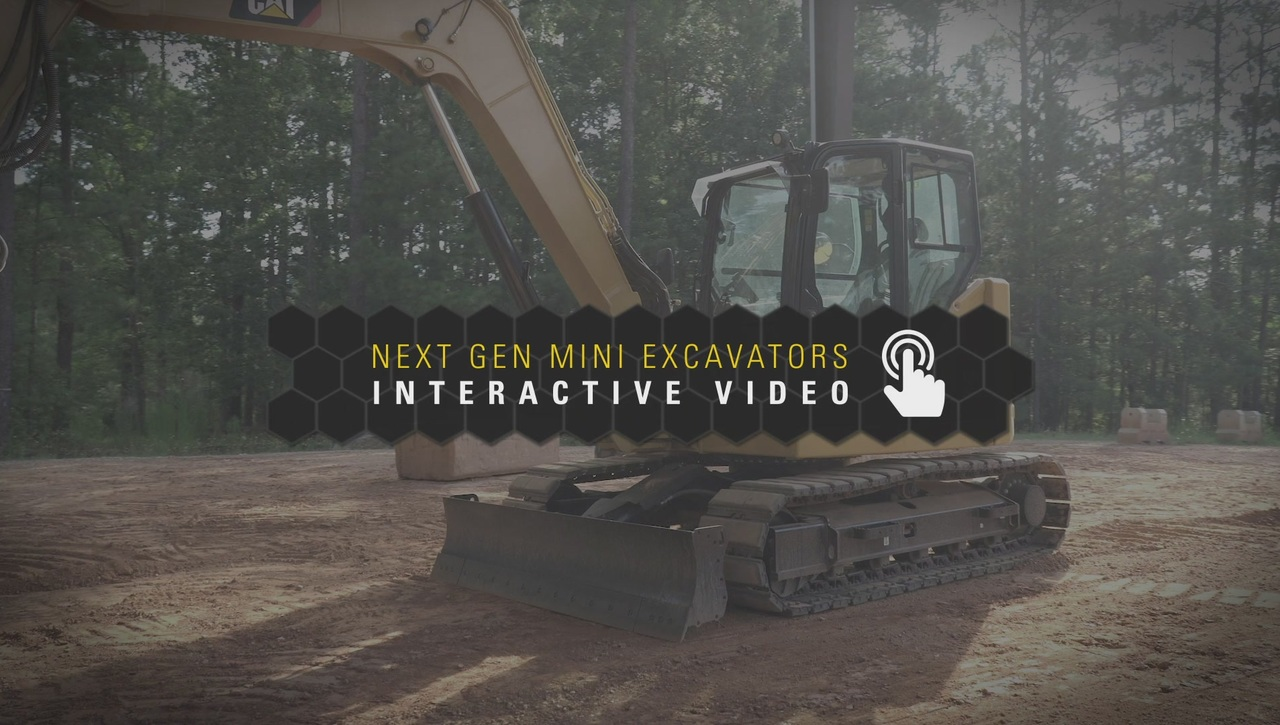 Next Gen Mini Excavators Interactive Video