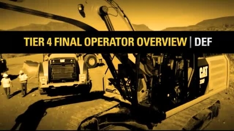 Thumbnail for entry Tier 4 Final/Stage IV Operator Training  DEF 8329-02